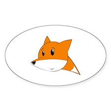 Funny Cute fox Decal