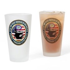 CVN-76 USS Ronald Reagan Drinking Glass