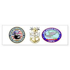 CVN-76 USS Ronald Reagan Bumper Sticker