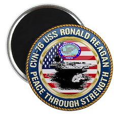 CVN-76 USS Ronald Reagan Magnet
