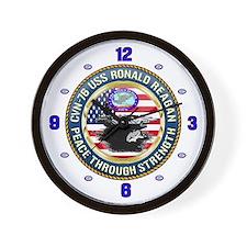 CVN-76 USS Ronald Reagan Wall Clock