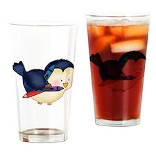 Cute Birdy Drinking Glass