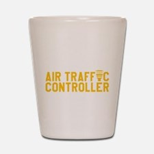 Cute Air traffic controller kids Shot Glass