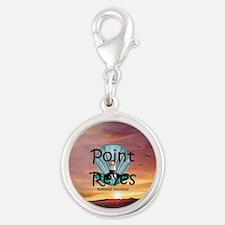 ABH Point Reyes Silver Round Charm