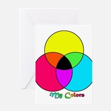 My Colors Greeting Cards