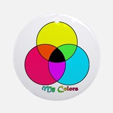 My Colors Ornament (Round)