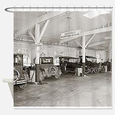 Unique Vintage cars Shower Curtain