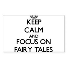 Keep Calm and focus on Fairy Tales Bumper Stickers