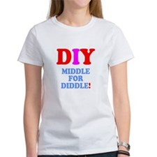 DIY - MIDDLE FOR DIDDLE! T-Shirt