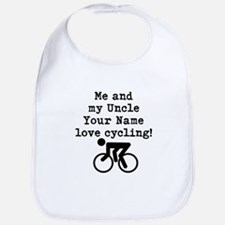 Me And My Uncle Love Cycling Bib