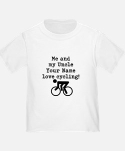 Me And My Uncle Love Cycling T-Shirt