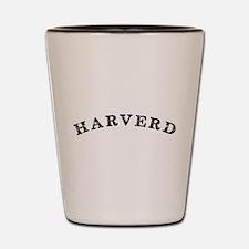 Harverd Shot Glass