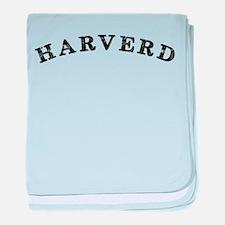 Harverd baby blanket