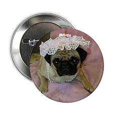 Sweet Pug Button