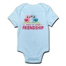 11th Anniversary Gifts for Them Infant Bodysuit