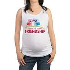 11th Anniversary Gifts for Them Maternity Tank Top