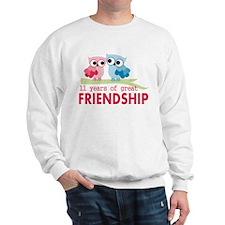 11th Anniversary Gifts for Them Sweatshirt