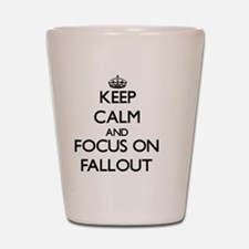 Funny Fallout Shot Glass