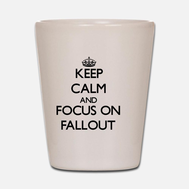 Cute Fallout Shot Glass