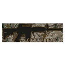 AR-15 Come and Take It Featuring  Bumper Sticker