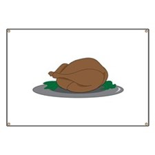 Turkey on Platter Banner