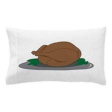 Turkey on Platter Pillow Case