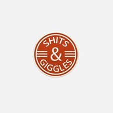 Sh*ts and Giggles Mini Button