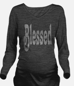 Blessed Long Sleeve Maternity T-Shirt