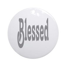 Blessed Round Ornament