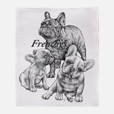 Frenchy's Throw Blanket