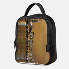 Unique Chicago downtown Neoprene Lunch Bag