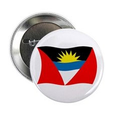 "Antigua and Barbuda Flag 2 2.25"" Button (100 pack)"