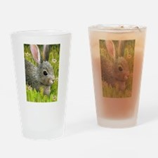 Unique Bunny rabbit Drinking Glass