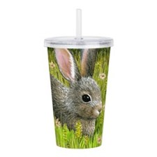 Unique Hare Acrylic Double-wall Tumbler