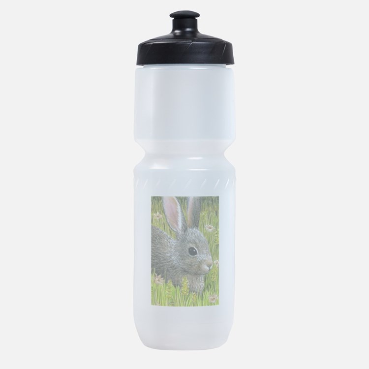 Cute Bunny rabbit Sports Bottle