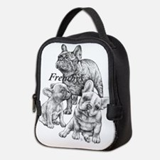 Unique French bulldog Neoprene Lunch Bag