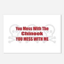 Mess With Chinook Postcards (Package of 8)