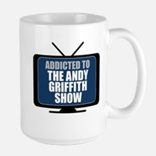 Addicted to the Andy Griffith Show Large Mug
