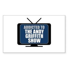 Addicted to the Andy Griffith Show Rectangle Stick