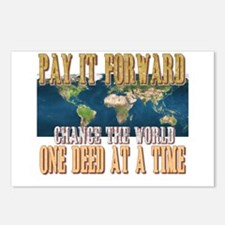 Pay It Forward Postcards (Package of 8)