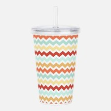 Unique Mustard Acrylic Double-wall Tumbler