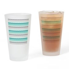 Unique Aqua Drinking Glass