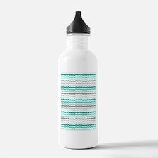 Cute Teal Water Bottle