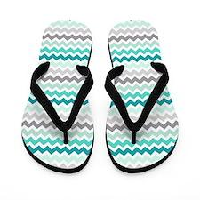 Cute Aqua Flip Flops