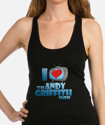 I Heart the Andy Griffith Show Dark Racerback Tank