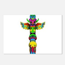 Totem Pole Postcards (Package of 8)