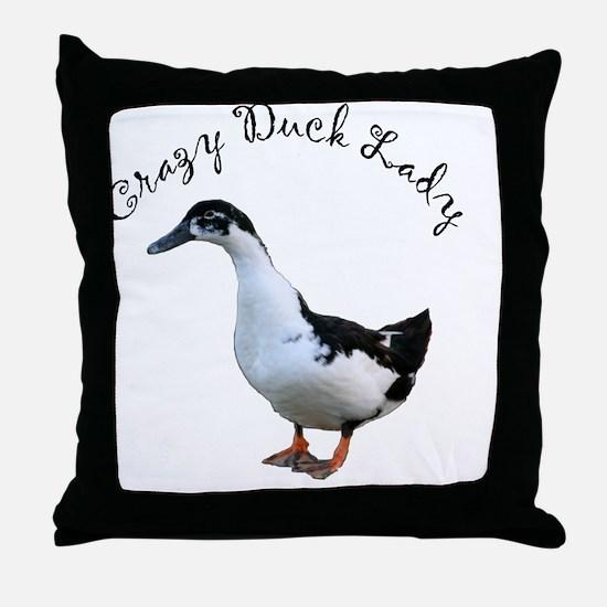 Cute Ducks Throw Pillow