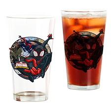 Web Warriors Morales Spider-man Drinking Glass