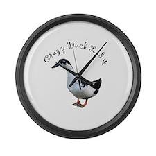 Unique Magpie Large Wall Clock