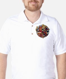 Web Warriors Iron Spider Golf Shirt